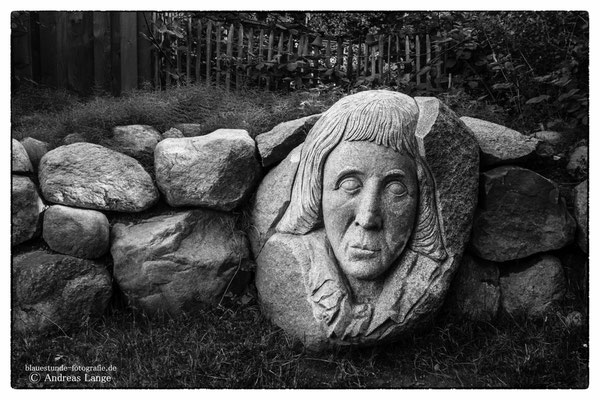 Altenkirchen Skulptur des Dichters G.L.T. Kosegarten