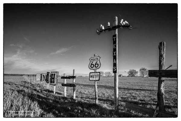 Route 66 in Brandenburg