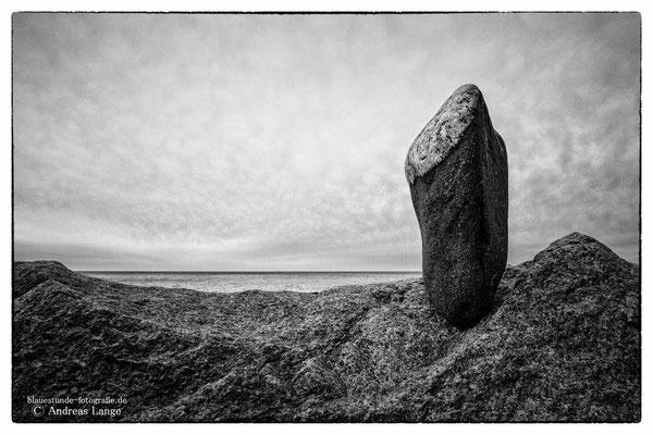Stein und Meer