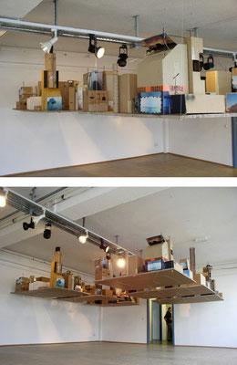 "Installation ""Kopfstadt"", 2004"