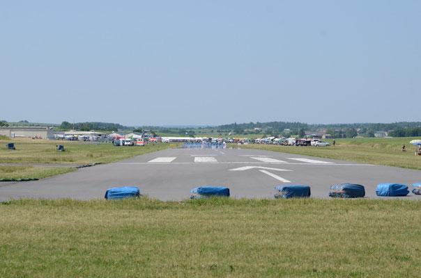 Kulisse des Flugplatzrennen in Walldürn