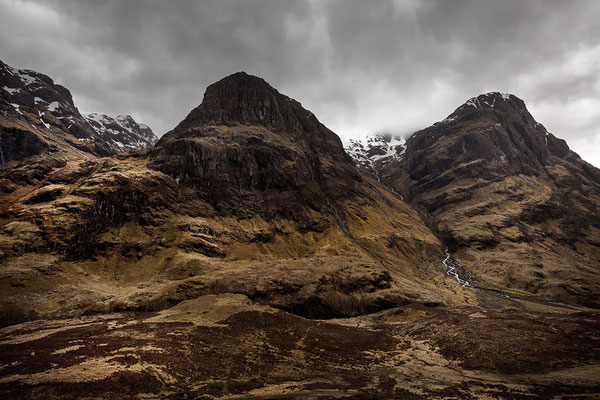 The Three Sisters, Glen Coe