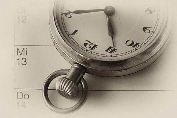 Termin - Thema Zeit