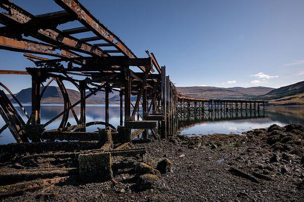Hvitanes Pier am Hvalfjördur