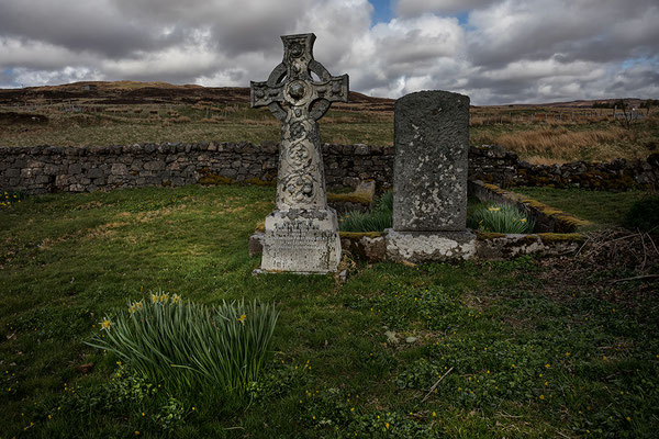 Friedhof St. Mary's Chapel Dunvegan, Isle of Skye