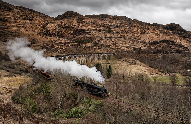 "Glenfinnan Viaduct, ""The Jacobite"""