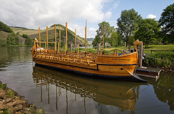 das Römerboot in Neumagen an der Mosel
