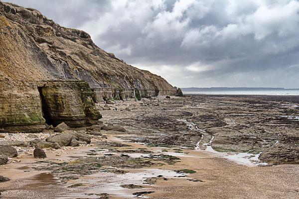 Steilküste bei Port en Bessin nach Westen