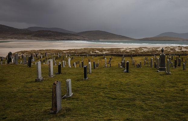 Luskentyre Friedhof, Harris