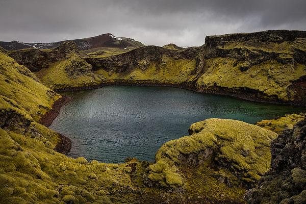 Tjarnargigur Kratersee, Lagavegur 207