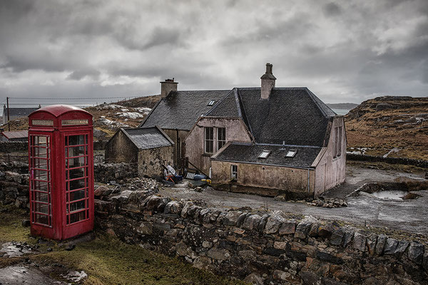 Abandoned House, Aird Leimhe, Golden Road, Harris