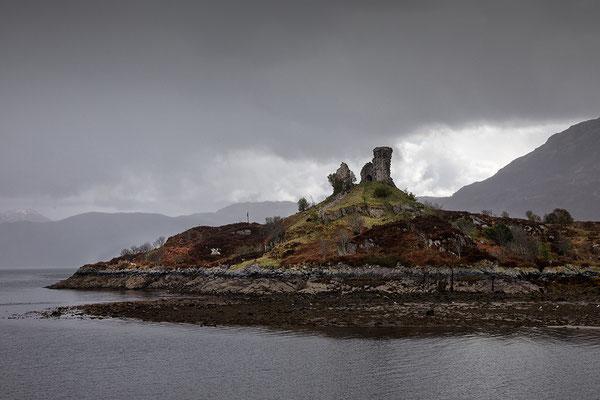 Castle Moin  bei Kyleakin, Isle of Skye
