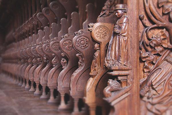 Chorgestühl im Kloster Maulbronn 1