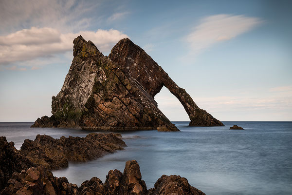 Bow Fiddle Rock bei Portknockie
