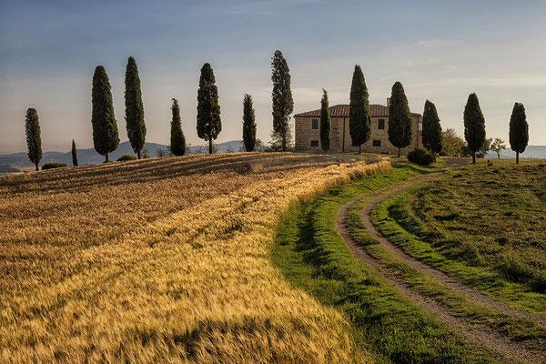 Villa I Cipressini im Val d´Orcia