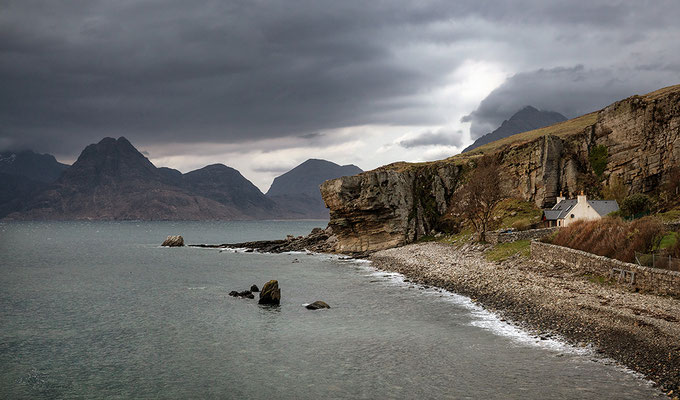 Elgol, Blick auf Cullin Mountains
