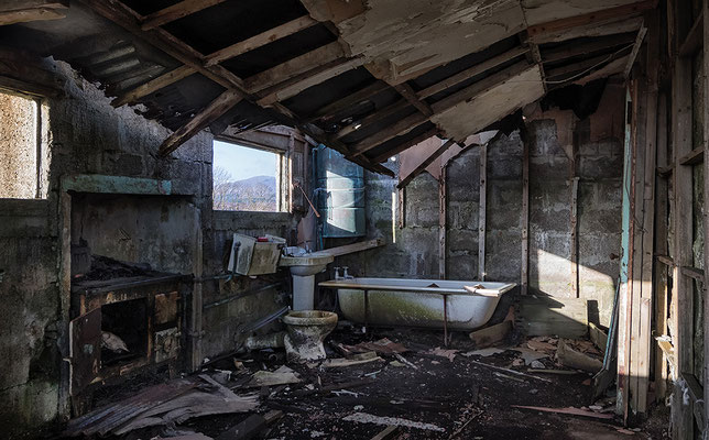 Abandoned House in Arivruaich, Lewis