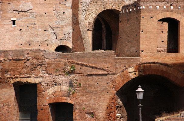 Trajansmärkte - Ausschnitt