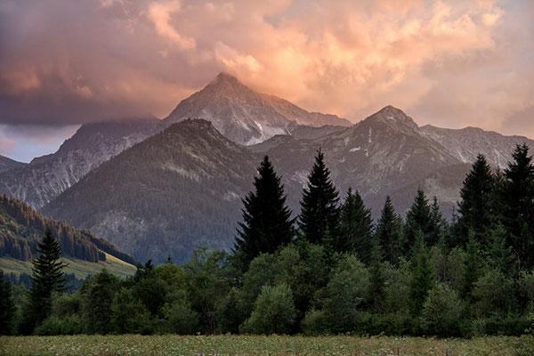 Das Tannheimer Tal bei Grän 1