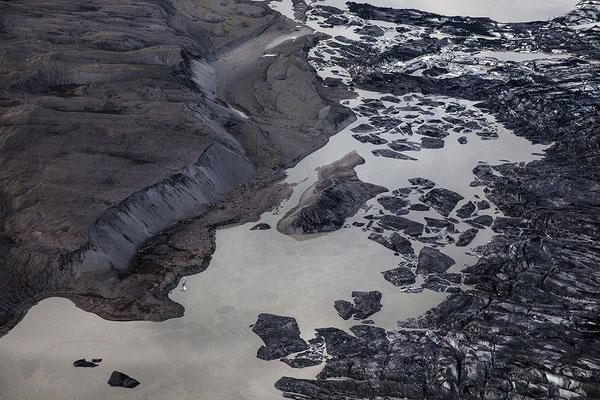 Gletscherlagune Skeidararjökull
