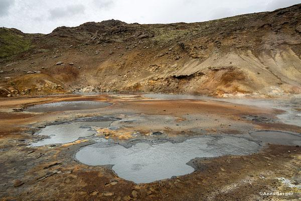 Geothermalgebiet Krisuvik Selun an der SW-Küste