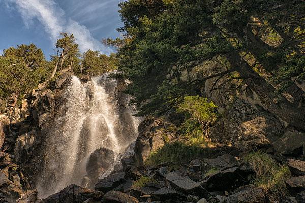 Cascadas Ratera im NP Aigüestortes
