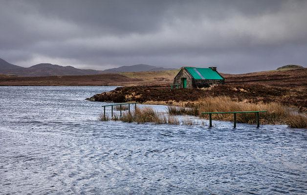 Loch Bhaltois, Laxay Bothy, Lewis