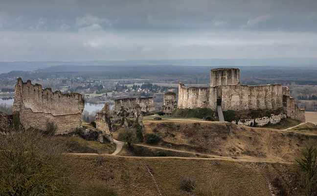 Chateau Guillard in Les Andelys