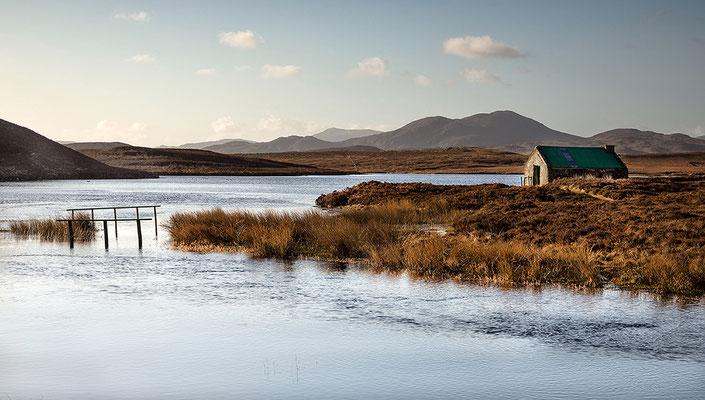 Laxay Bothy am Loch Bhaltois, Lewis