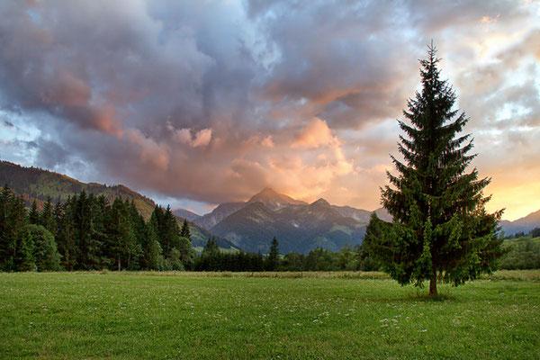 Das Tannheimer Tal bei Grän 2