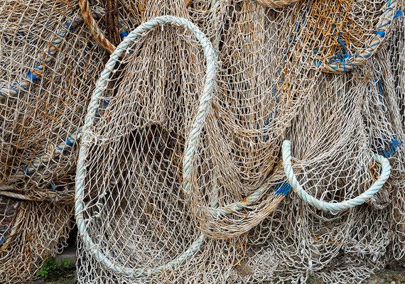 Honfleur, Fischernetze