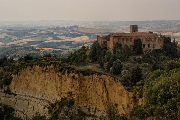 Blick von Volterra auf die Balze