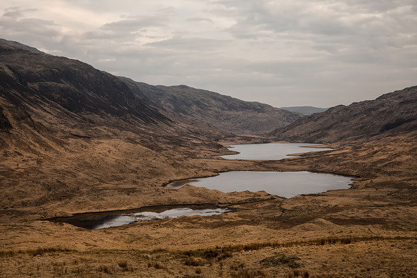 Three Lochs at Glen More, Isle of Mull