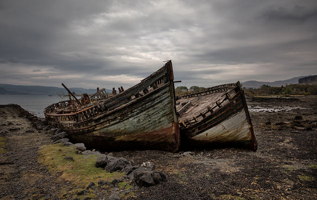 Alte Boote, Salen, Isle of Mull