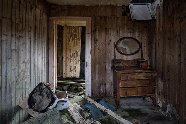Abandoned House, Geocrab, Golden Road, Harris