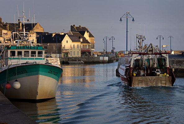 Hafen von Port en Bessin