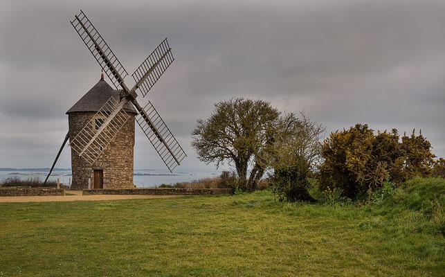 Windmühle Craca bei Paimpol