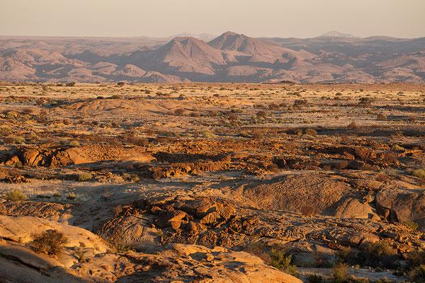 Blick von der Terrasse des Red Rock