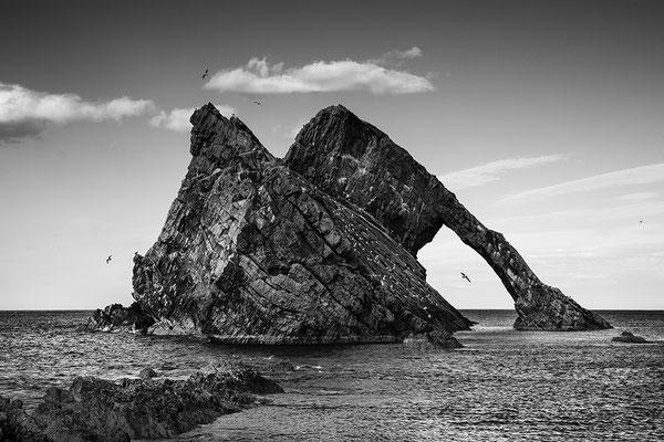 Bow Fiddle Rock bei Portknockie