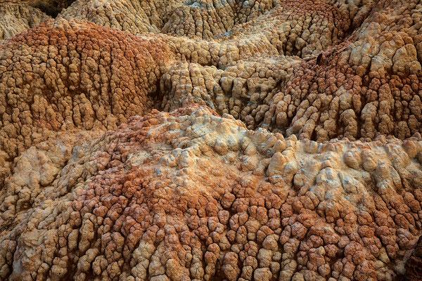 Erosionsformen in der Sierra de Jubierre, Los Monegros