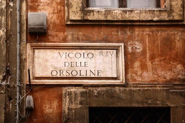 Roms Straßenschilder I