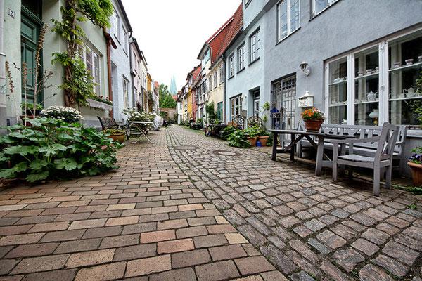 Lübeck - alte Gänge