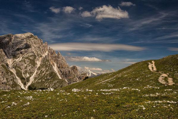 Blick vom Strudelkopf nach Norden zum Dürrenstein