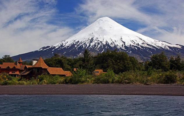 Osorno am Lago Esmeralda