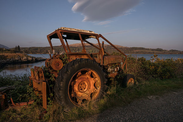 Alter Traktor, Salen, Isle of Mull