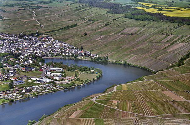 Stadt, Land, Fluss