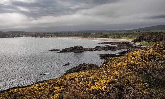 Strand zwischen Portknockie und Cullen