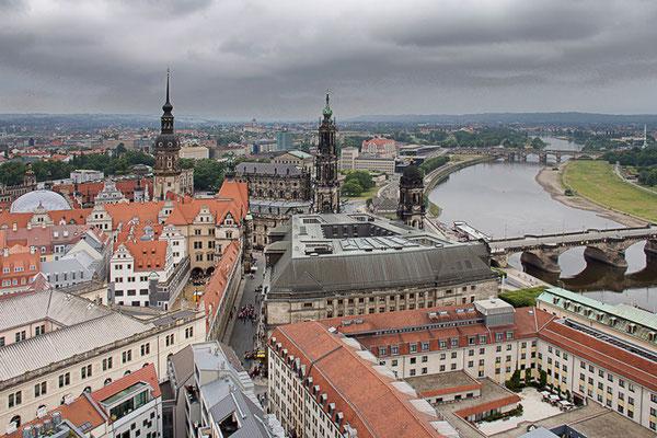 Über den Dächern von Dresden I
