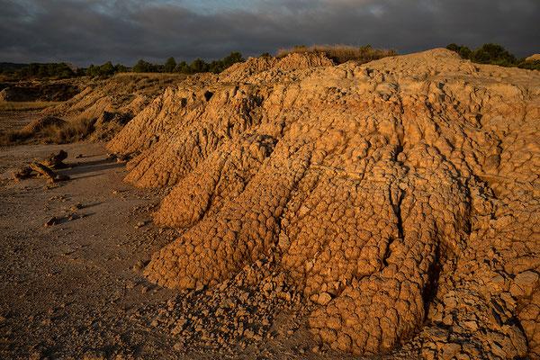 Erosionsformen in der Sierre de Jubierre, Los Monegros