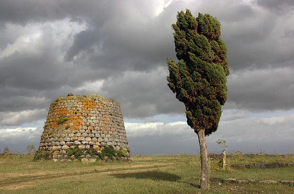 Nuraghe in Santa Sabina